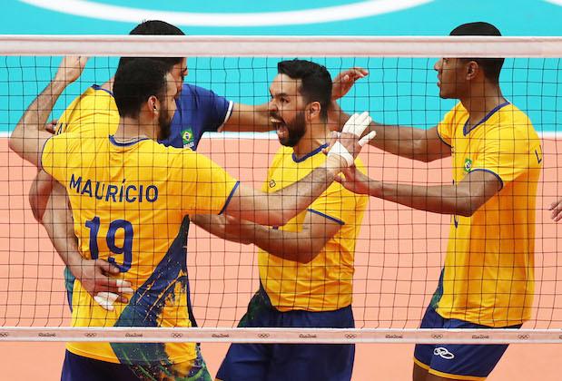 Rio 2016 Olympic Games, Volleyball, Maracanazinho, Brazil - 06 Aug 2016