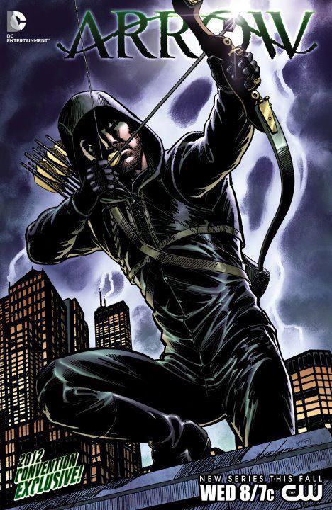 556600 323807024373157 844656473 n - Capa da HQ de Arrow, que a CW vai distribuir na #ComicCon2012