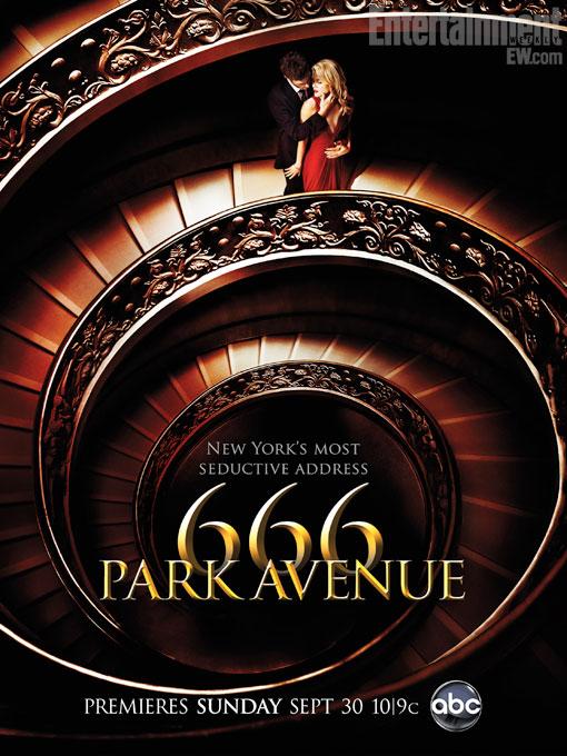 """666 PARK POSTER 510 - Novo poster de 666 Park Avenue informa: """"é o endereço mais sexy de Nova York"""""""