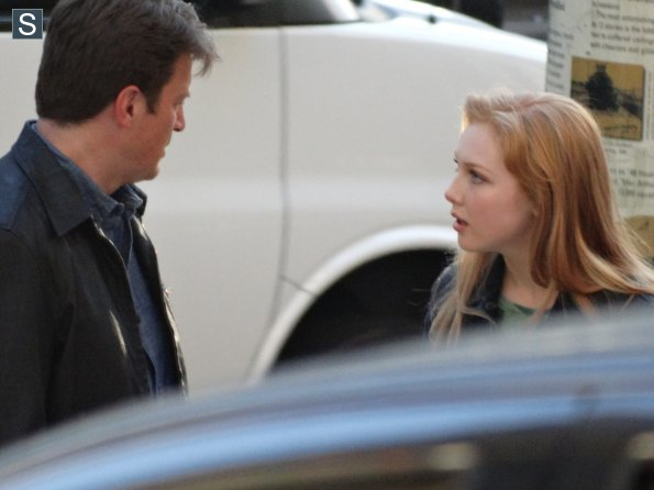 Castle - Season 7 - Set Photos - 31st July 2014 (13)_595_slogo