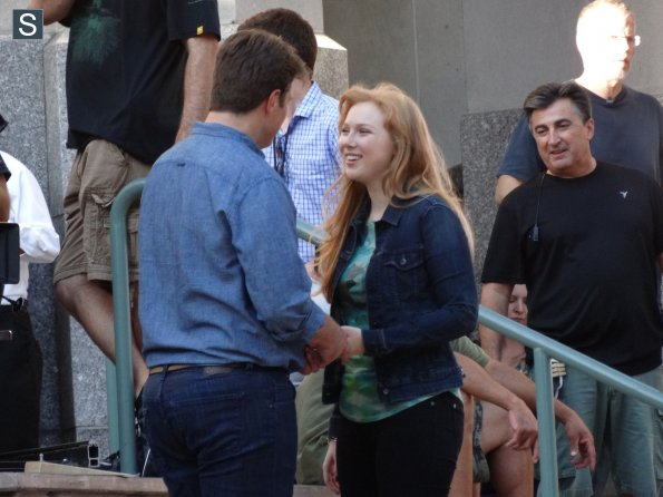 Castle - Season 7 - Set Photos - 31st July 2014 (9)_595_slogo