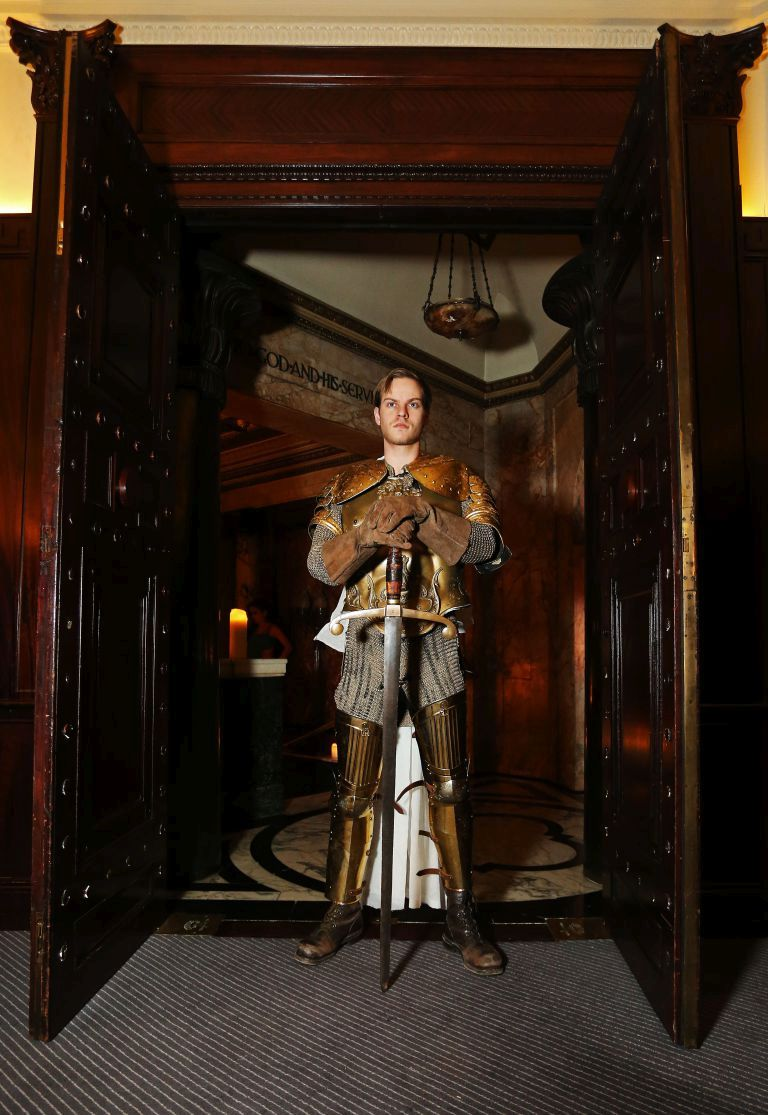 Game of Thrones pop-up restaurant, Andaz Hotel, Liverpool Street, London, 11th of February 2015