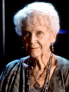 """Gloria Stuart 240 - EXTRA: Gloria Stuart, a velhinha do filme """"Titanic"""", morre aos 100 anos de idade"""