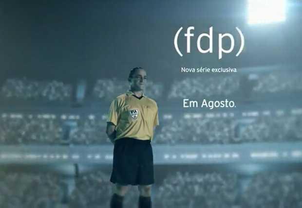 HBO FDP - Conheçe a (fdp), a nova série nacional da HBO? Pois é... futebol pela ótica dos árbitros