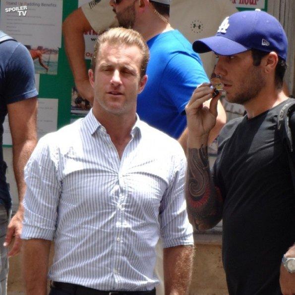 Hawaii Five-0 - Season 5 - Set Photos - 31st July 2014 (18)_595_SpoilerTV Watermark Large