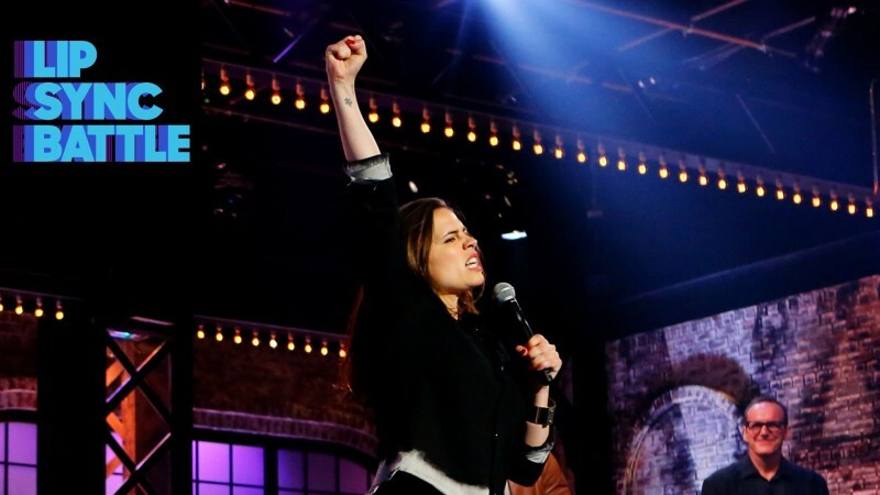 Hayley Atwell- Lip Sync Battle