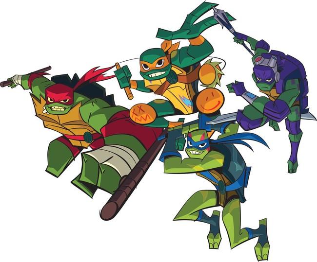 As Tartarugas Ninja Em Nova Serie De Animacao Mas Nao Sei Se Voce