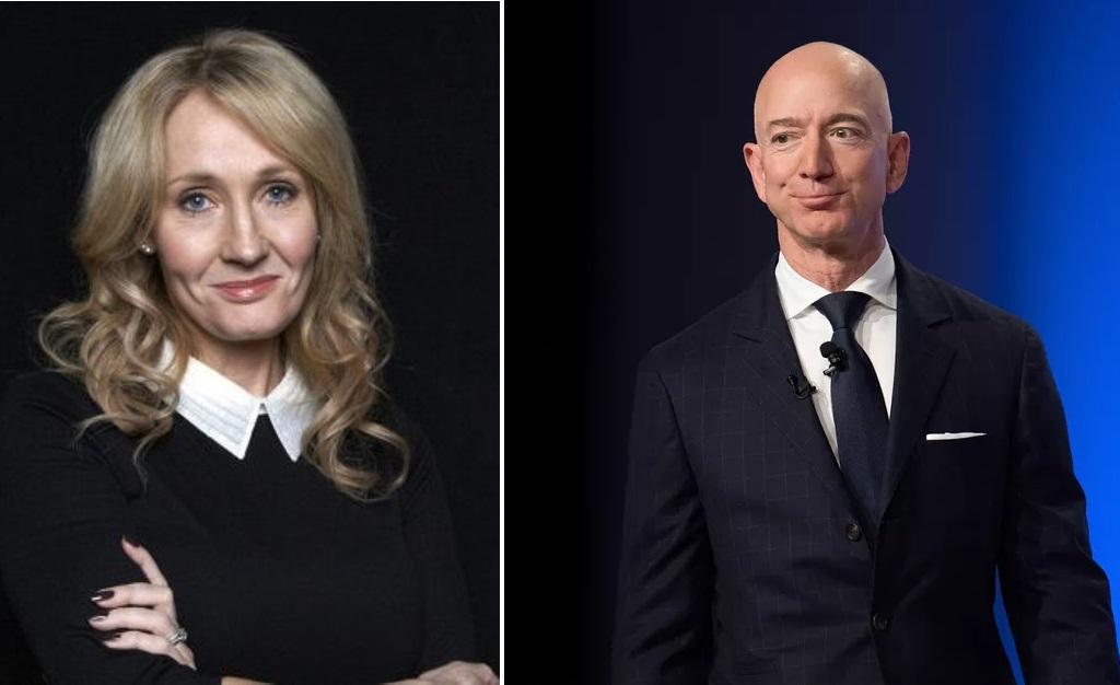 Rowling e Bezos