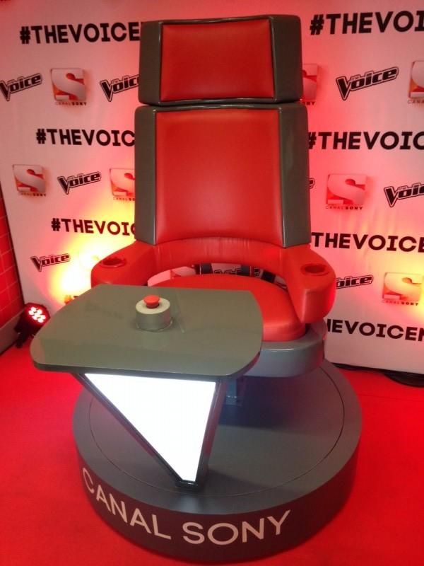The Voice - Cadeira 3