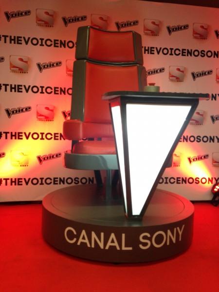 The Voice - Cadeira