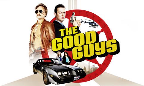 The Good Guys logo - [Resenhas] The Good Guys bebe diretamente da fonte de Starsky & Hutch