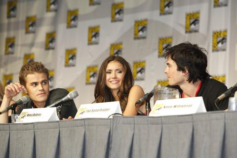Vampire Diaries Comic Con Panel. 2 - [Comic-Con 2010] Painel de The Vampire Diaries: dicas da segunda temporada