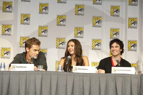 Vampire Diaries Comic Con Panel - [Comic-Con 2010] Painel de The Vampire Diaries: dicas da segunda temporada