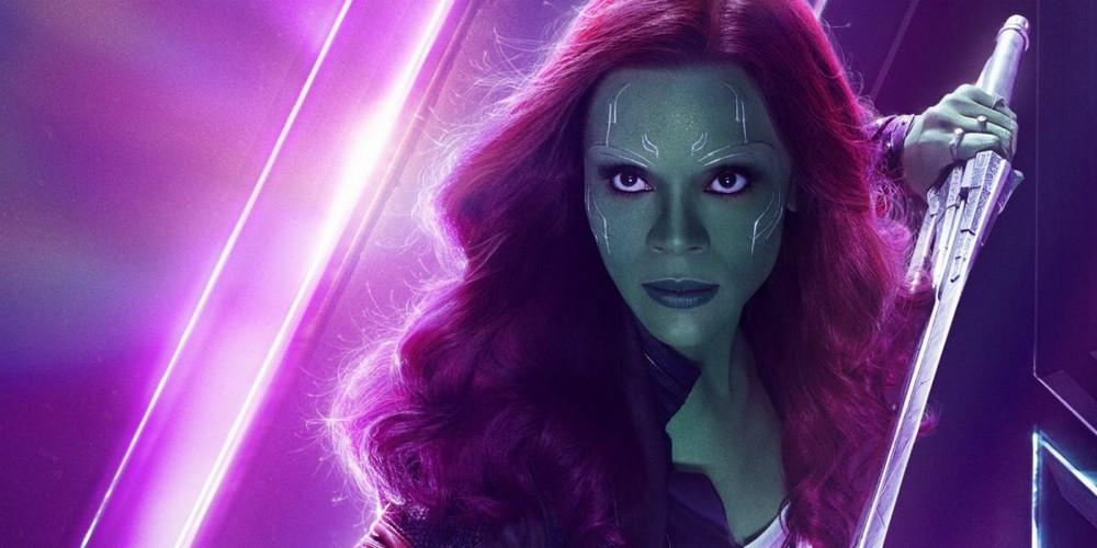 Zoe Saldana Vingadores: Ultimato