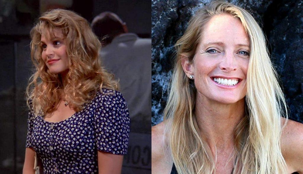 Anita Barone e Jane Sibbet viveram a personagem Carol em Friends (Reprodução)