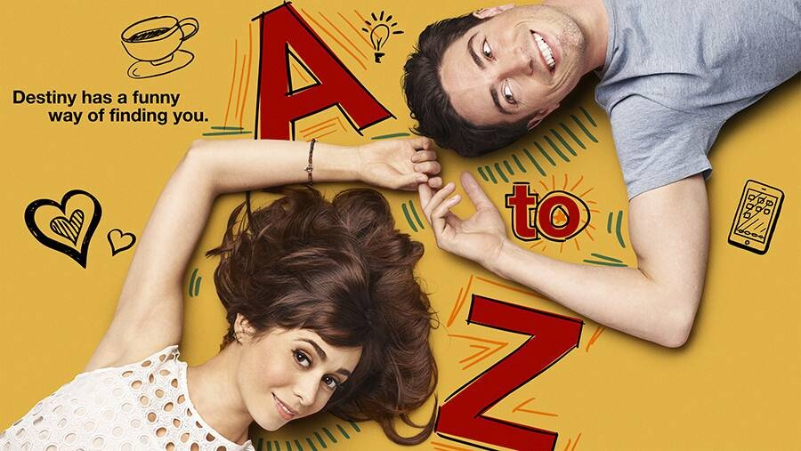 "A TO Z -- Pictured: ""A to Z"" Key Art -- (Photo by: NBCUniversal)"