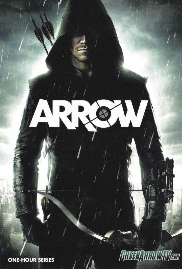 arrow tv series poster - Capa da HQ de Arrow, que a CW vai distribuir na #ComicCon2012