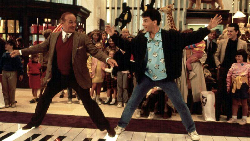 BIG, Robert Loggia, Tom Hanks, 1988. TM and Copyright (c) 20th Century Fox Film Corp. All rights res