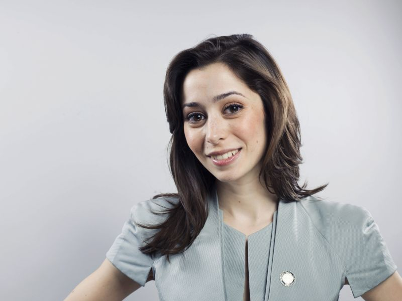 Actress Cristin Milioti poses for a portrait in New York