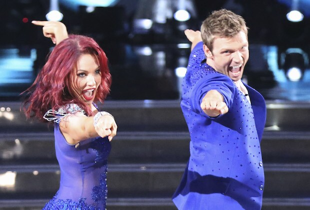 SHARNA BURGESS, NICK CARTER