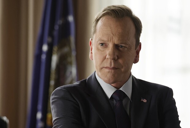 """DESIGNATED SURVIVOR - """"The Mission"""" - Realizing his attempts at diplomacy with Algeria have failed, President Kirkman makes the difficult decision of sending Navy SEALs on a mission that will define his presidency. Meanwhile, as the investigation into the Capitol bombing continues, Agent Hannah Wells discovers more secrets than answers, on ABC's """"Designated Survivor,"""" WEDNESDAY, OCTOBER 26 (10:00-11:00 p.m. EDT). (ABC/Ben Mark Holzberg) KIEFER SUTHERLAND"""