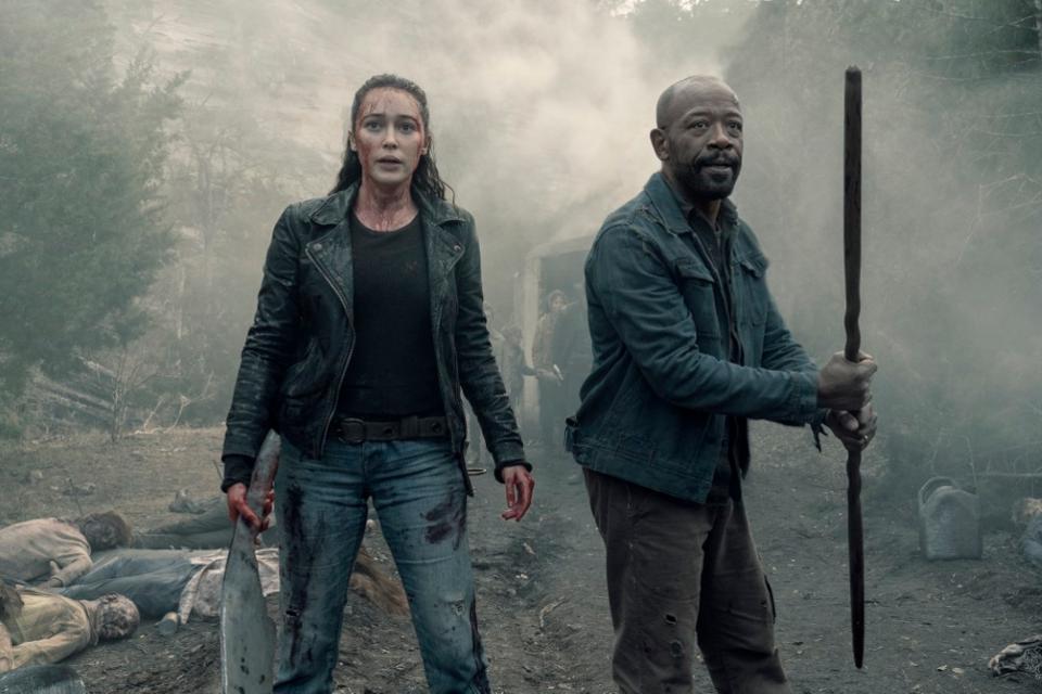 Fear the Walking Dead é exibida pela AMC (Divulgação)