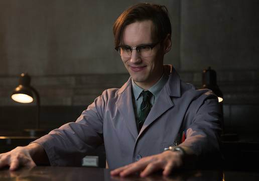 "GOTHAM: Edward Nygma (Cory Michael Smith) in the in the ""All Happy Families Are Alike"" episode of GOTHAM airing Monday, May 4 (8:00-9:00 PM ET/PT) on FOX. ©2015 Fox Broadcasting Co. Cr: Jessica Miglio/FOX"