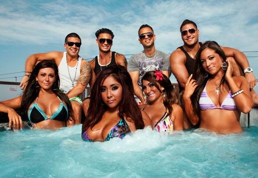 jersey shore hot tub - MTV anuncia o fim de Jersey Shore ao final dessa temporada