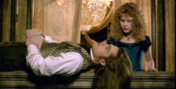 Brad Pitt e Kirsten Dunst em Entrevista com o Vampiro