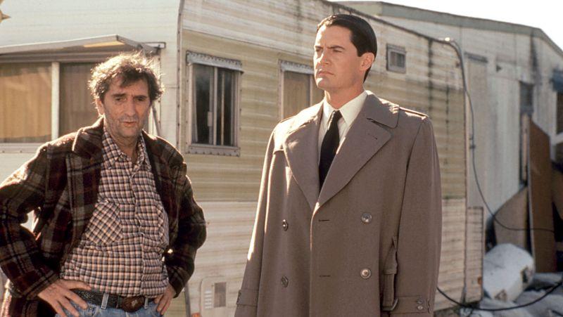 TWIN PEAKS: FIRE WALK WITH ME, Harry Dean Stanton, Kyle MacLachlan, 1992, (c)New Line Cinemas/courte