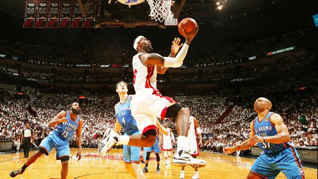 Oklahoma City Thunder v Miami Heat Ð Game Five