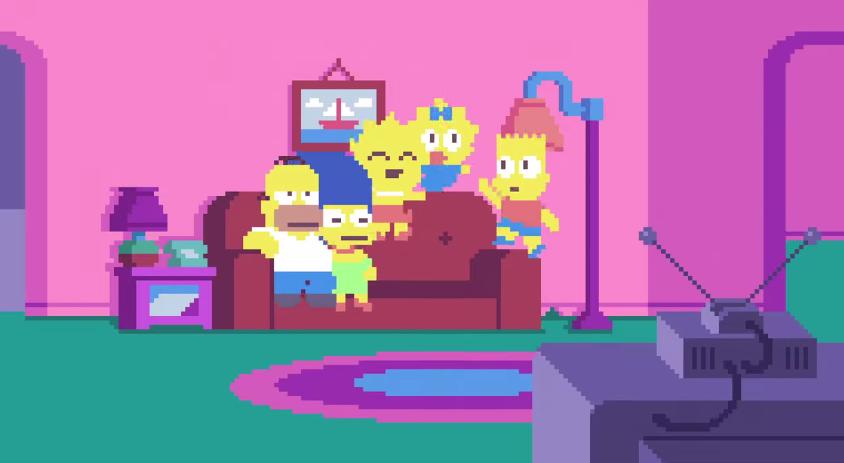 los-simpsons-pixel