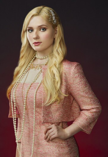SCREAM QUEENS: Abigail Breslin as Chanel #5 in SCREAM QUEENS which debuts with a special, two-hour series premiere event on Tuesday, September 22 (8:00-10:00 PM ET/PT) on FOX. ©2015 Fox Broadcasting Co. Cr: Matthias Clamer/FOX.