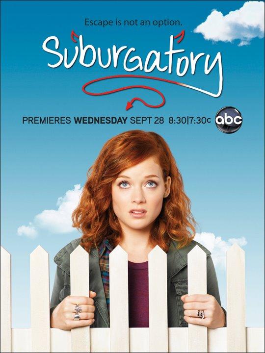 suborgatory - Poster promocional de Suburgatory, uma das estreias da ABC na próxima Fall-Season
