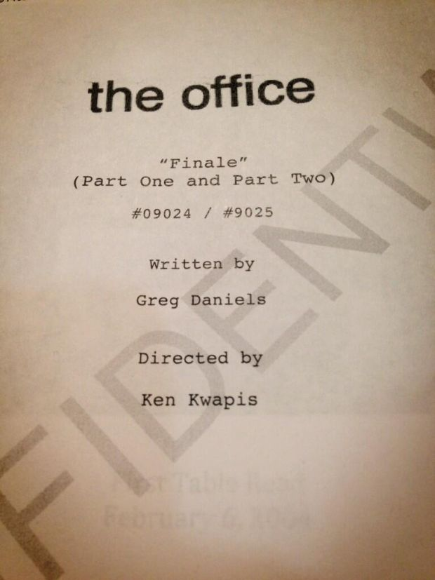 the-office-finale-script
