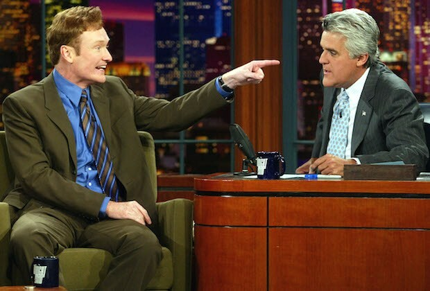 Conan O'Brien Appears on The Tonight Show with Jay Leno